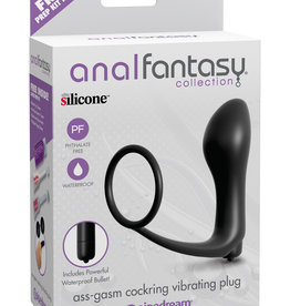 Pipedream Anal Fantasy Collection Ass Gasm Cockring Cockring Vibrating Plug
