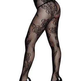 Baci LACE PANTYHOSE-QUEEN