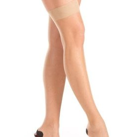 Be Wicked Back Seam Nude Thigh Highs - One Size