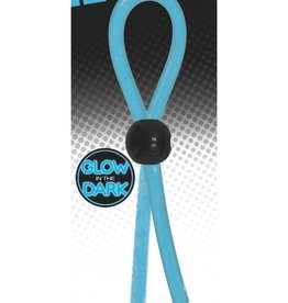Rascal - Boneyard Rascal The Brawn Single Leash Glow Silicone Blue