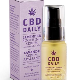 Earthly Body Cbd Daily Soothing Serum Lavender .67oz