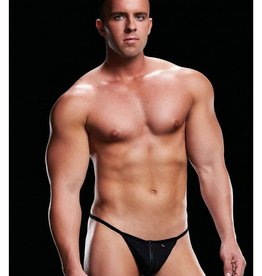 Envy Lowrise G-String - Black - Small/Medium
