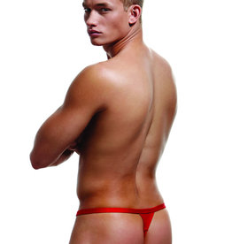 Envy Break-A-Way Thong - Red - Large/XLarge