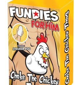 Fundies FUNDIES CHOKE THE CHICKEN THONG-O/S