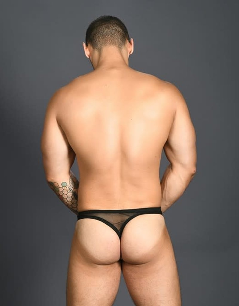 Andrew Christian Arouse Gigolo Mesh Ring Thong
