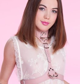Stockroom Stupid Cute Bust Harness - Baby Pink - OS