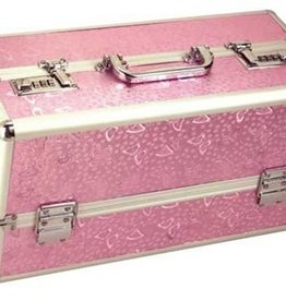 BMS Factory Large Lockable Vibrator Case - Pink