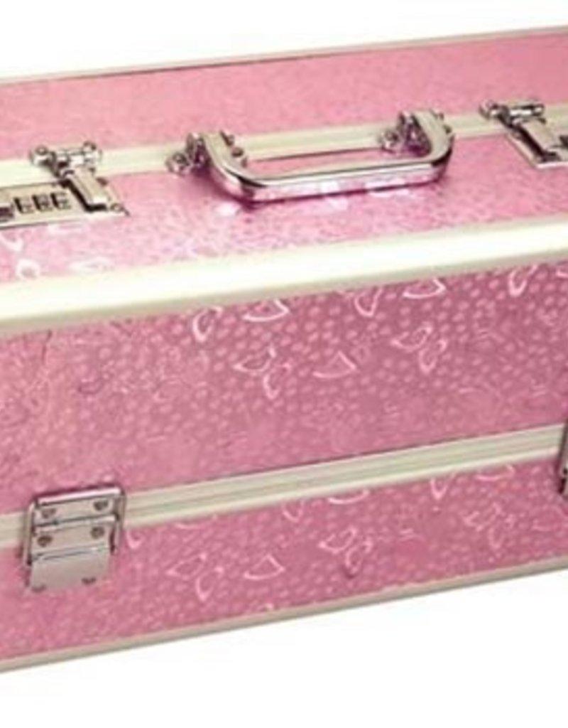 BMS Factory Large Lockable Vibrator Case - Pink
