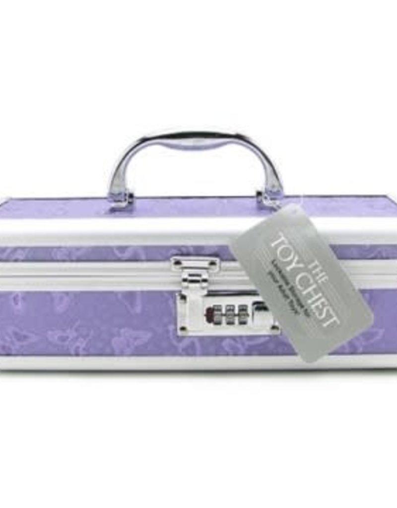 BMS Factory Vibrator Case Lockable - Purple