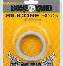 Rascal - Boneyard Bone Yard Silicone Ring Cockring Grey 1.6 Inch Diameter