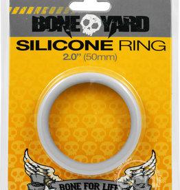 Rascal - Boneyard Bone Yard Silicone Ring Cockring Grey 2 Inch Diameter