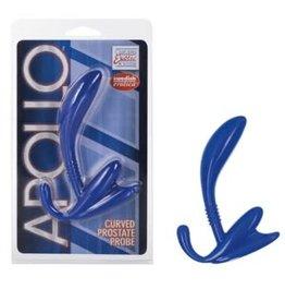 California Exotic Novelties Apollo Curve Prostate Probe - Blue