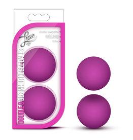 Blush Novelties Luxe Double O Beginner Kegel Balls - Pink