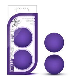 Blush Novelties Luxe Double O Advanced Kegel Balls - Purple