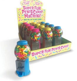 Little Genie Super Fun Penis Candy Machines - Assorted Colors
