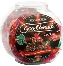 Doc Johnson Good Head Sample Packet - Assorted Flavors - 1 COUNT
