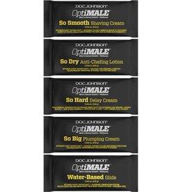 Doc Johnson OptiMale So Smooth Shaving Cream - 0.24oz