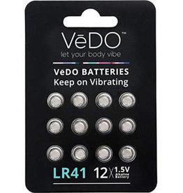 VeDO LR41 Batteries 12 Pack