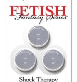 Pipedream Fetish Fantasy Series Shock Therapy Replacment Batteries - 3 Pack