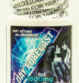 Herbal Supplements 5 Day Forecast Male Enhancement 6 Ct Bottle