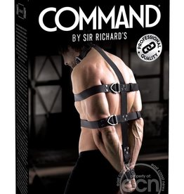 Sir Richard's LLC Sir Richard's Command Body Binder Kit Black And Stainless Steel
