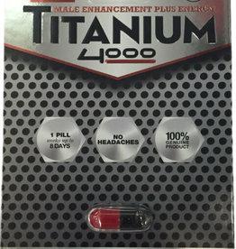 Herbal Supplements Titanium 4000 Male Enhancement - 1 count