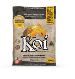 Koi CBD Koi CBD Tropical Fruit Gummies - 200mg - 20 Pc. - Each
