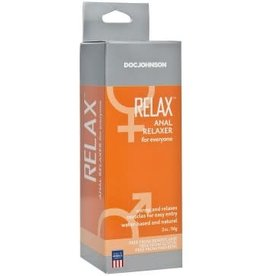 Doc Johnson Relax - Anal Relaxer for Everyone - 2 Oz. - Boxed