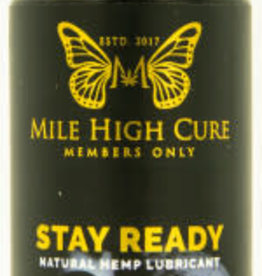 Mile High Cure Mile High Cure Stay Ready All Natural Aloe Vera Hemp Lubricant 2 Fl Oz
