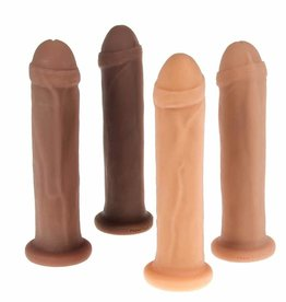 New York Toy Collective New York Toy Collective Leroy Posable Dildo - Caramel