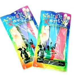Golden Triangle Naughty Party Balloons - Penis - 8 Pack - Assorted Colors