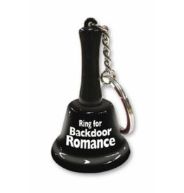 OZZE CREATIONS Ring for Backdoor Romance Keychain