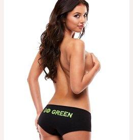 Pot Head Panties GO GREEN BOYSHORTS-SMALL/MEDIUM