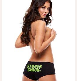 Pot Head Panties STONER CHICK BOOTYSHORTS-MEDIUM/LARGE