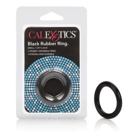 California Exotic Novelties Rubber Ring - Small - Black