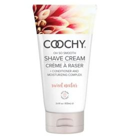 Classic Brands Coochy Shave Cream - Sweet Nectar - 3.4 Oz
