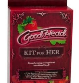 Doc Johnson Good Head Kit for Her