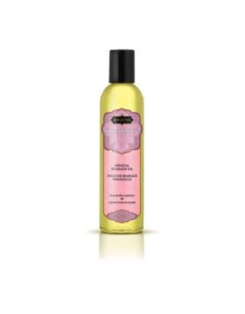 Kama Sutra Aromatics Massage Oil - Pleasure Garden - 2 Fl Oz