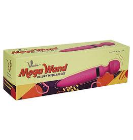 Shibari/Voodoo Voodoo Mega Wand Deluxe Wireless 28x - Pink
