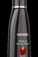 Wicked Sensual Care Aqua Candy Apple Flavored Water-Based Lubricant 2 Oz.
