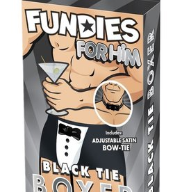 Fundies Fundies Black Tie Boxer in OS