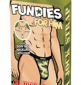 Fundies Fundies GI Jock Strap in OS