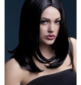 FEVER LINGERIE Sophia Wig - Black