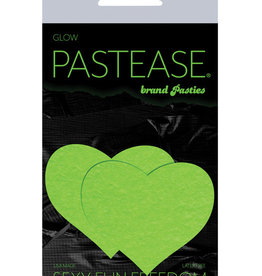 Pastease Pastease Heart - Glow in the Dark Green O/S