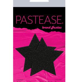 Pastease Pastease Glitter Star - Black O/S