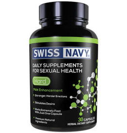 Swiss Navy Swiss Navy Hard Male Enchancement - 30 Ct