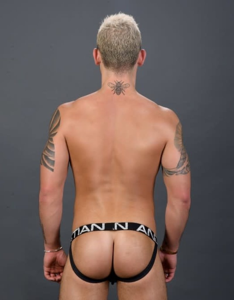 Andrew Christian Metallic Web Jock w/ Almost Naked