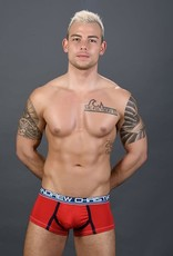Andrew Christian CoolFlex Modal Boxer w/ Show-It - Red