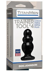 Doc Johnson Titanmen Tool - Trainer #4 - Black