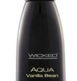 Wicked Sensual Care WICKED Aqua Vanilla Bean Water-Based Lubricant - 4oz
